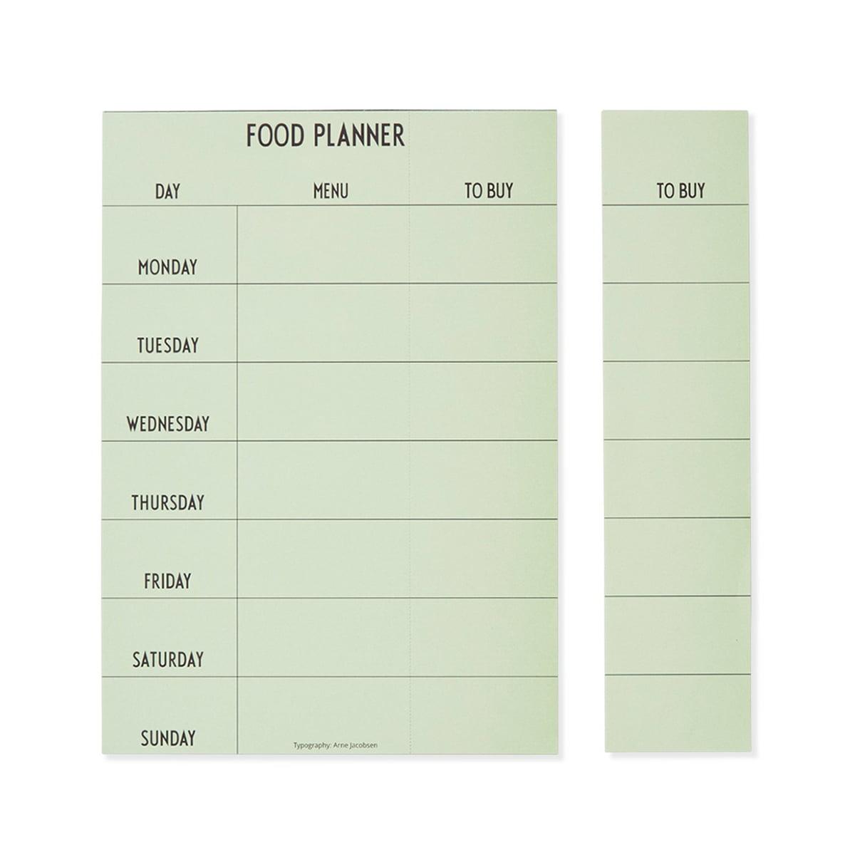 Weekly Food Planner